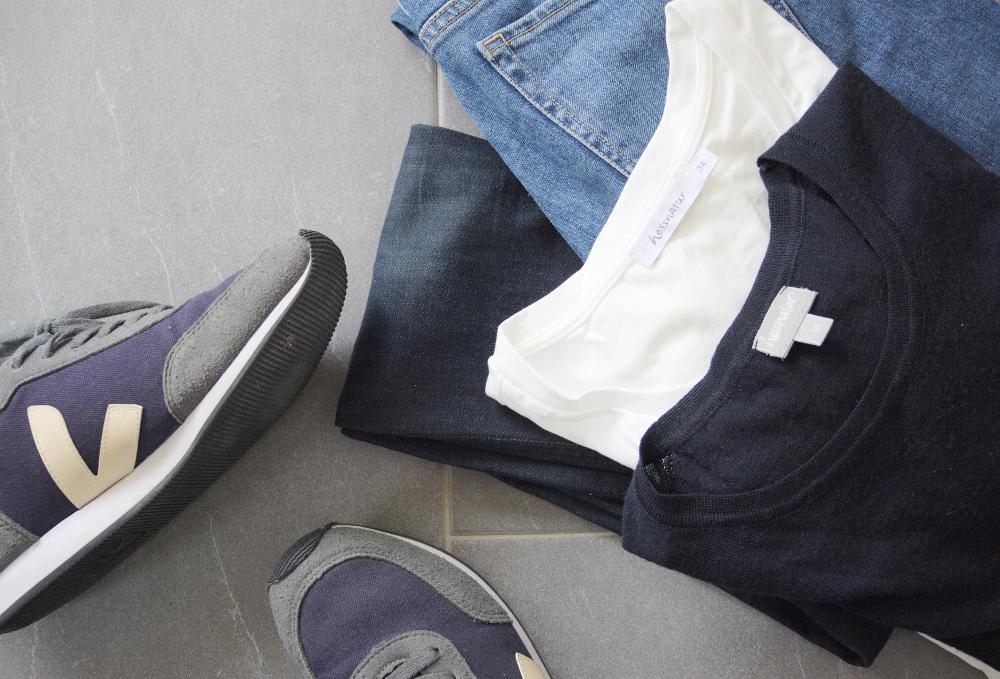 Basics sind super für eine Capsule Wardrobe!