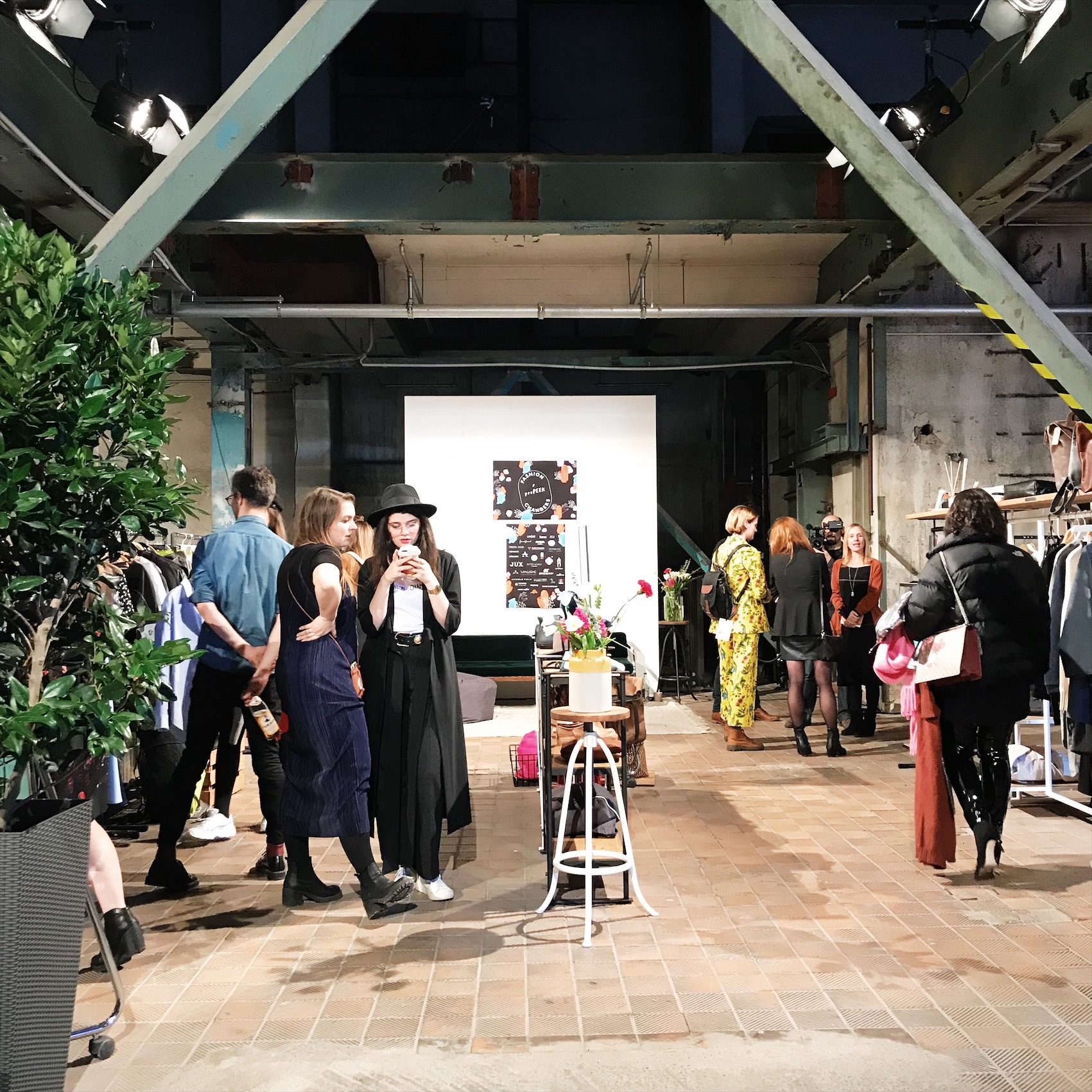 Die Fashion Changers im Greenshowroom