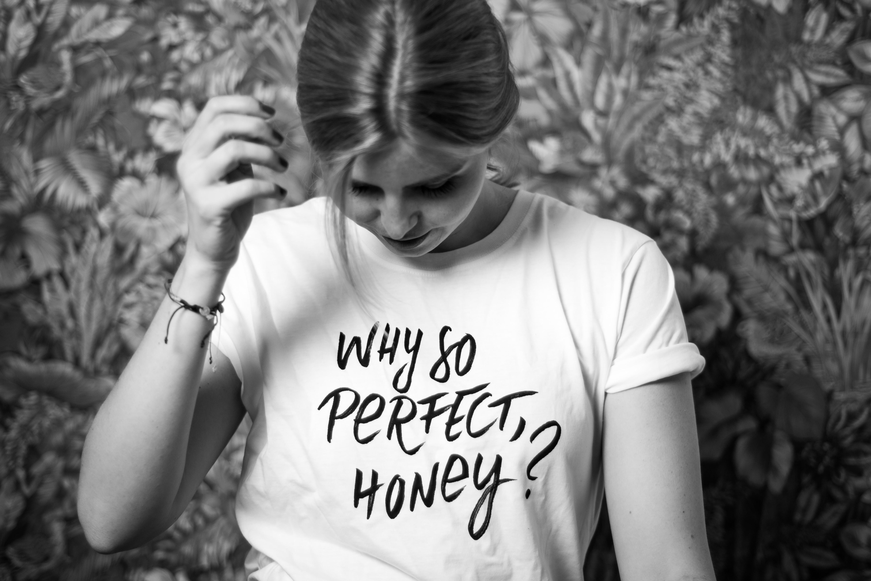 """Ich liebe das """"Signature Shirt"""" von Mit Ecken und Kanten."""