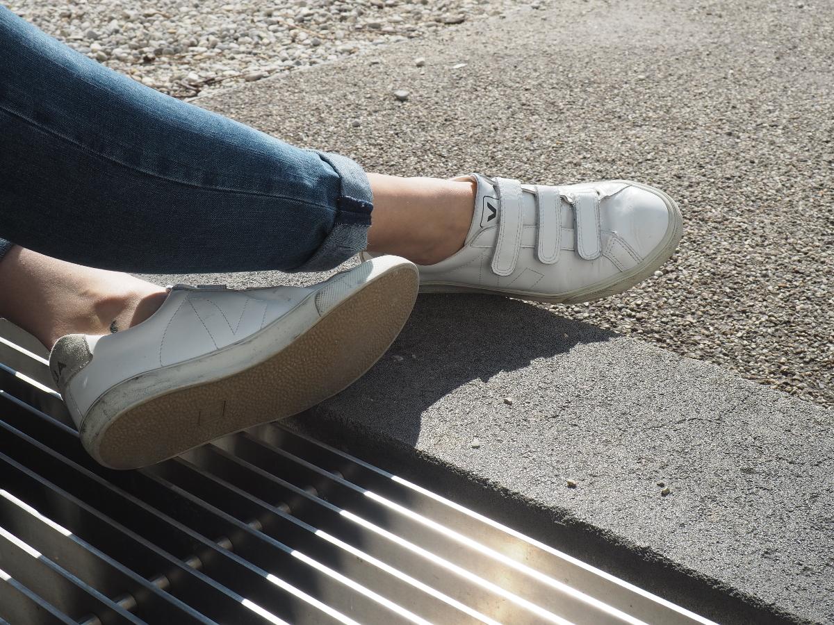 Endlich knöchelfrei und Sneakers...