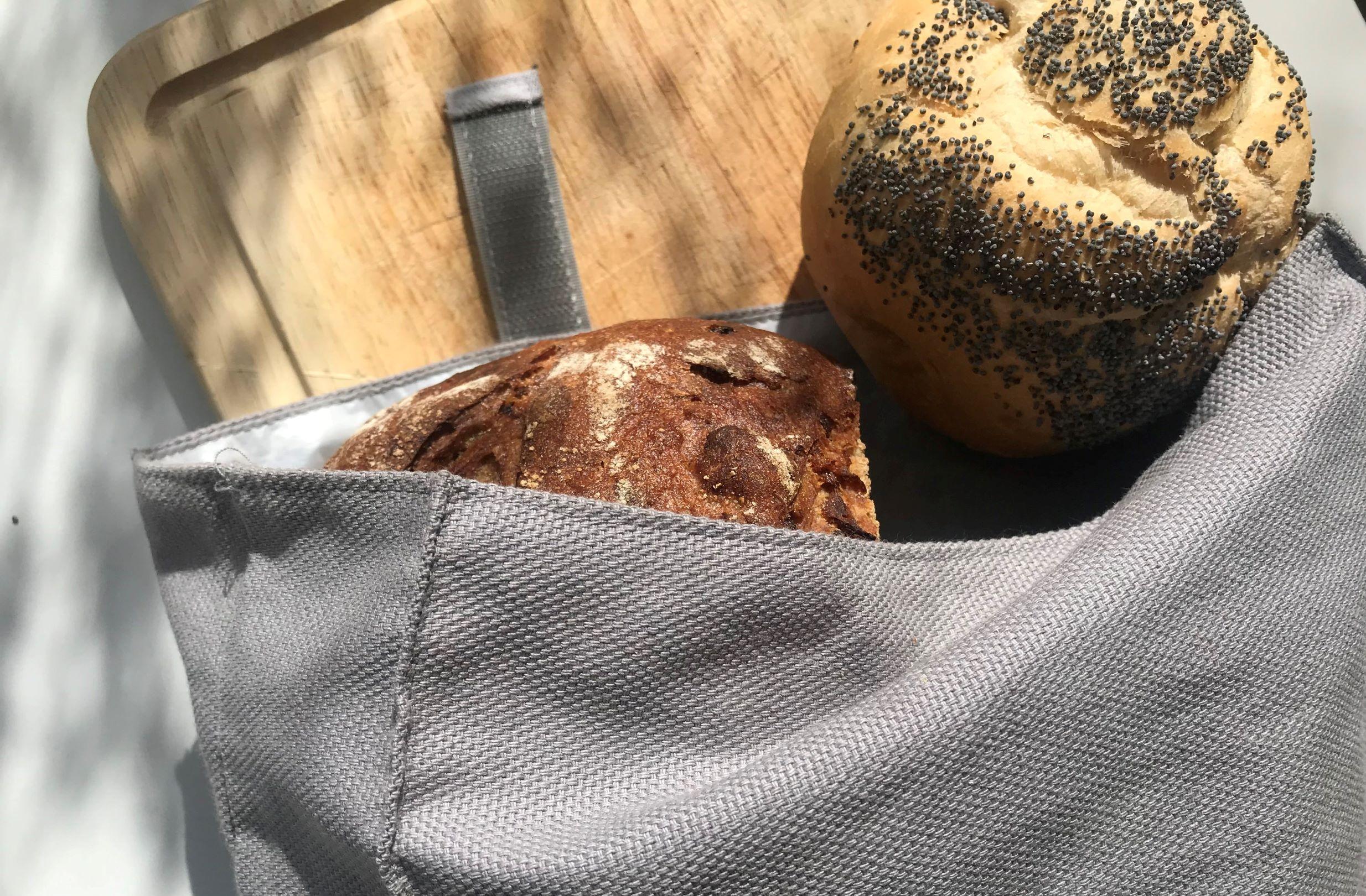 Die Brottüte von Umtüten ist sehr praktisch, wenn man plastikfrei einkaufen will - vor allem Brot und Brötchen.